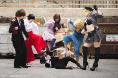 Noragami cosplay photoshoot Little Tokyo Los Angeles