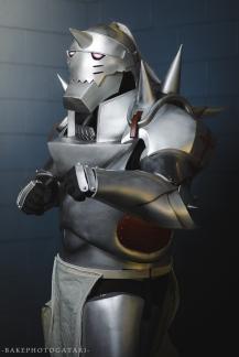 Bakephotogatari Cosplay Fullmetal Alchemist Alphonse Armor
