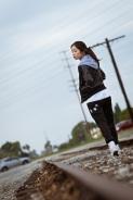 urban fashion train tracks