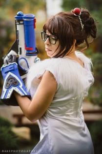 overwatch mei cosplay qipao