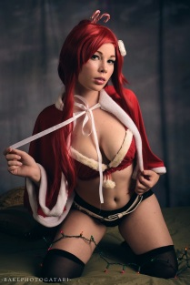 cosplay christmas gurren lagann yoko