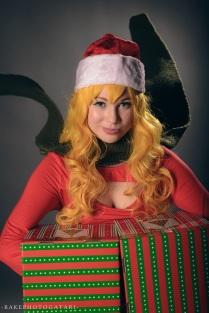 cosplay christmas rwby yang