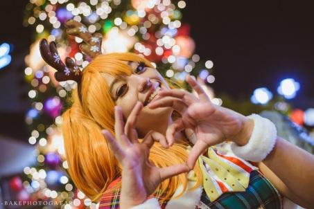 cosplay christmas love live kousaka honoka