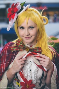 cosplay christmas love live sunshine ohara mari