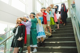anime expo 2016 kagerou project