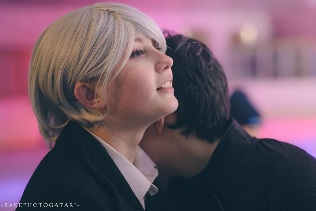 cosplay yuri on ice katsuki yuri viktor nikiforov