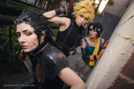 final fantasy vii ff7 cloud strife zack fair yuffie kisaragi cosplay