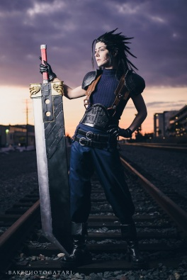 final fantasy vii ff7 zack fair cosplay