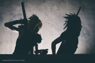 final fantasy vii ff7 cloud strife zack fair cosplay