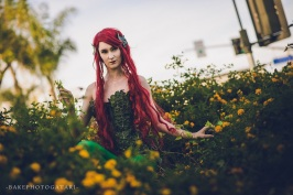 cosplay dc comics poison ivy harley quinn