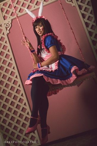 cosplay overwatch dva maid dress studio