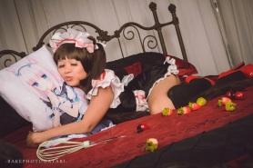 cosplay nekopara chocola maid