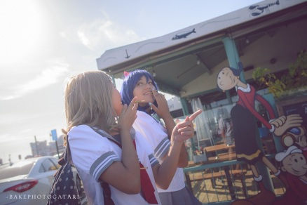 cosplay love live sunshine bakephotogatari